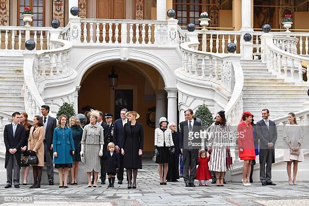 Louis DucruetPrincess Stephanie of Monaco Princess Alexandra of HanoverPrincess Caroline of HanoverSacha CasiraghiPrincess Charlene of Monacoa...