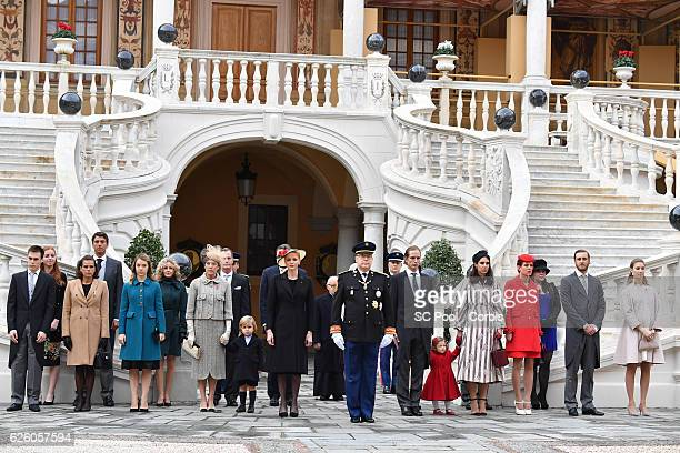 Louis Ducruet,Princess Stephanie of Monaco, Princess Alexandra of Hanover, Princess Caroline of Hanover, Sacha Casiraghi, Princess Charlene of...