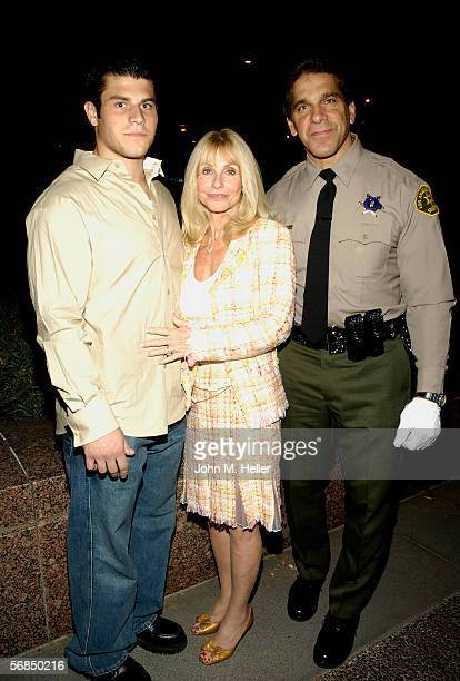 Louis Ferrigno JrCarla Ferrigno and her husband Lou Ferrigno the newly sworn in Los Angeles County Reserve Deputy Sherrif after the Actor and World...