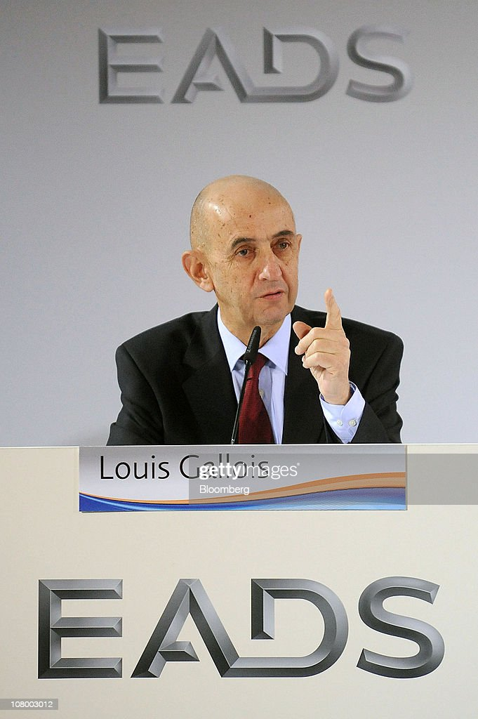 EADS Press Conference With CEO Louis Gallois