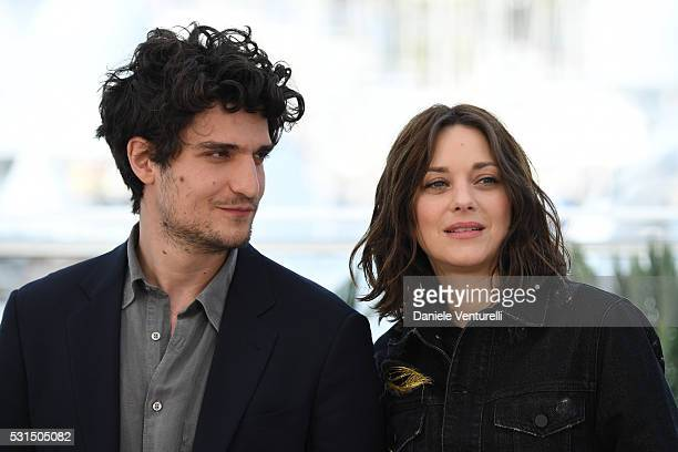 Louis Garrel and Marion Cotillard attend 'From The Land Of The Moon ' Photocall during The 69th Annual Cannes Film Festival on May 15 2016 in Cannes