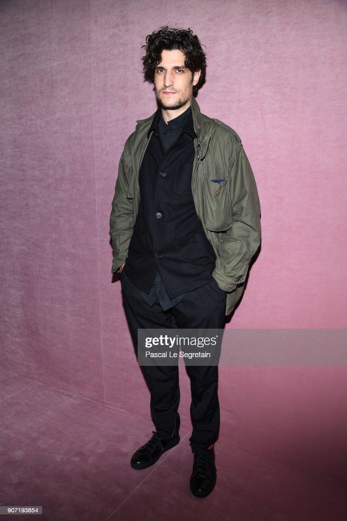 Berluti : Front Row  - Paris Fashion Week - Menswear F/W 2018-2019