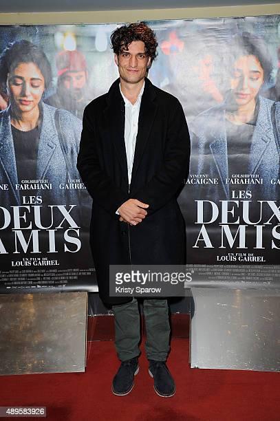 Louis Garrel attends the 'Les Deux Amis' Paris Premiere at UGC Cine Cite des Halles on September 22 2015 in Paris France