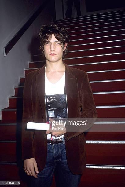 Louis Garrel during Les Etoiles d'Or du Cinema 2006 French Press Awards at Espace Cardin in Paris France