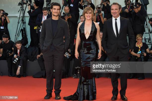 Louis Garrel Emmanuelle Seigner Jean Dujardin Alexandre Desplat at the 76 Venice International Film Festival 2019 Ju2019accuse red carpet Venice...