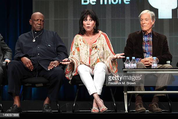 Louis Gossett Jr actor featured in 'Miniseries' Michele Lee actor featured in 'Primetime Soaps' and Richard Chamberlain actor featured in...