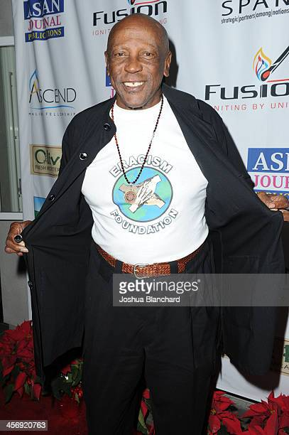 Louis Gossett Jr arrives at the Span Philippines Relief Fundraiser at Malibu West Beach Club on December 15 2013 in Malibu California