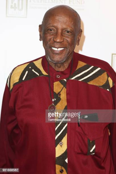Louis Gossett Jr attends A Legacy Of Changing Lives Presented By The Fulfillment Fund at The Ray Dolby Ballroom at Hollywood Highland Center on March...