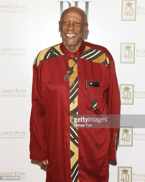 Louis Gossett Jr attends A Legacy of Changing Lives presented by The Fulfillment Fund held at The Ray Dolby Ballroom at Hollywood Highland Center on...