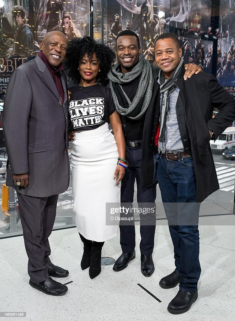 "Cast Of ""Book Of Negroes"" Visits ""Extra"" : News Photo"