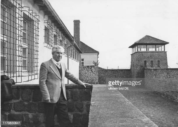 Louis Haefliger at the former concentration camp Mauthausen 1977