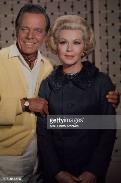 Louis Hayward, Lana Turner promotional photo for the Walt Disney Television via Getty Images series 'The Survivors'.