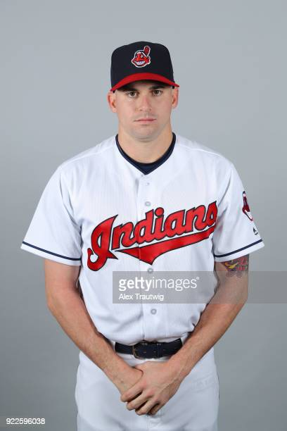 Louis Head of the Cleveland Indians poses during Photo Day on Wednesday February 21 2018 at Goodyear Ballpark in Goodyear Arizona