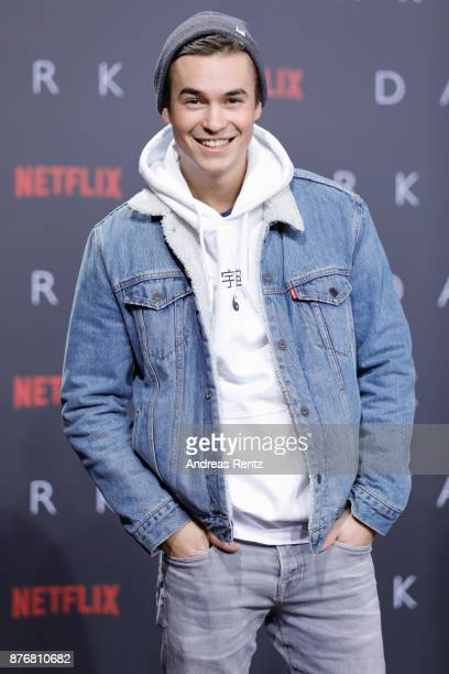 Louis Held attends the premiere of the first German Netflix series 'Dark' at Zoo Palast on November 20 2017 in Berlin Germany
