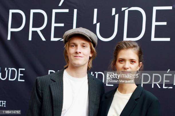 Louis Hofmann and Liv Lisa Fries attend the Prelude film premiere at Filmtheater am Friedrichshain on August 21 2019 in Berlin Germany