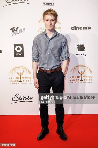Louis Hofmann and smart attend the Jupiter Award 2016 on April 06 2016 in Berlin Germany