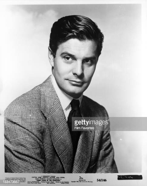 Louis Jourdan publicity portrait for the film 'Three Coins In The Fountain' 1954