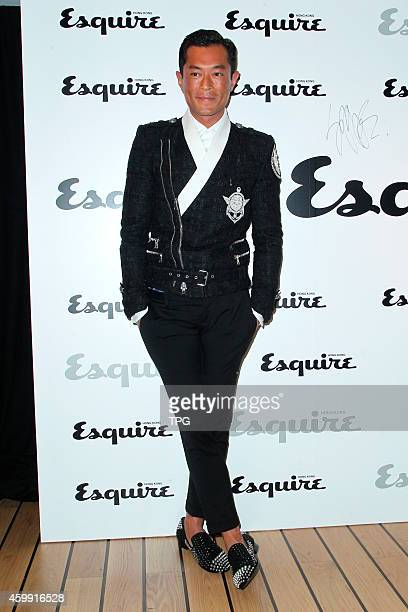 Louis Koo attends the Esquire HK cocktail party on 02th December 2014 in Hongkong China