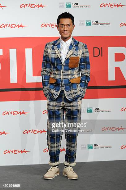 Louis Koo attends the 'Sou Duk' Photocall during The 8th Rome Film Festival on November 17 2013 in Rome Italy