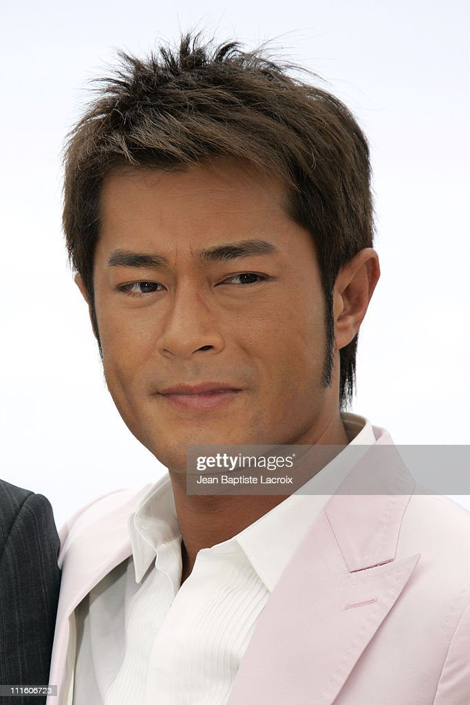Louis Koo during 2007 Cannes Film Festival - 'Triangle' Photocall at Palais des Festivals in Cannes, France, France.