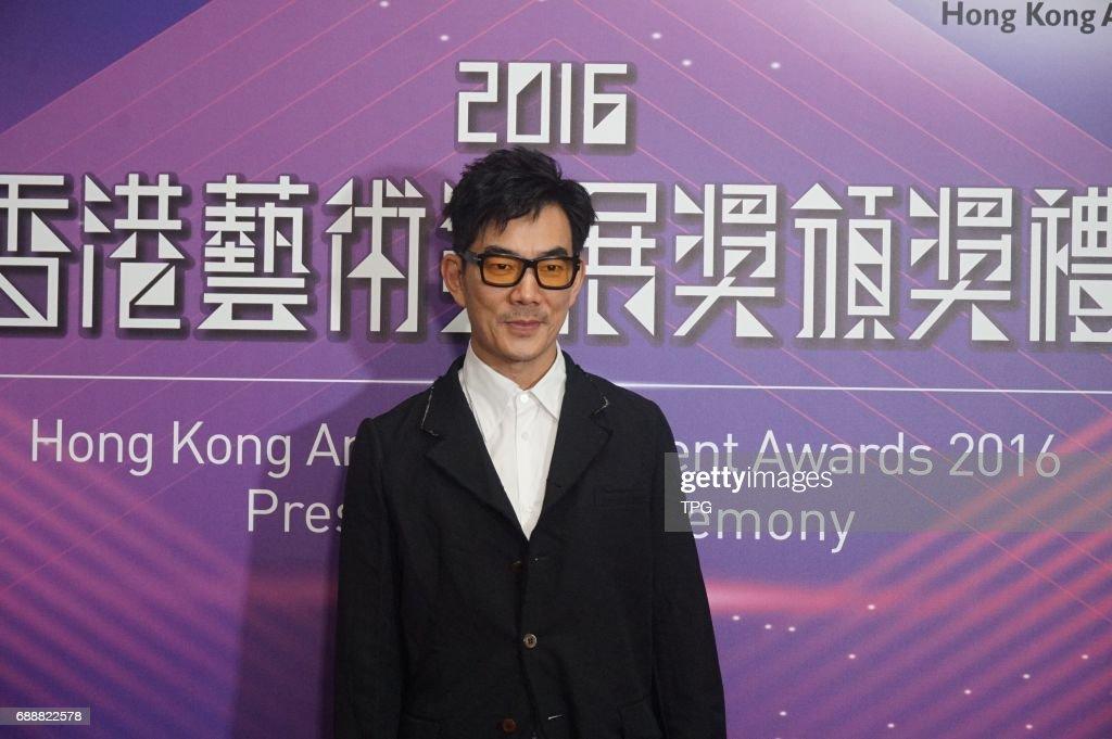Louis Koo,Richie Ren,Ka Tung Lam attend Hong Kong art development awards 2016 presentation ceremony on 26th May, 2017 in Hongkong, China.