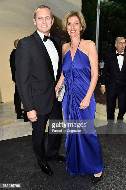 Louis Laforge and his wife attends the ACM Gala Dinner as part of the F1 Grand Prix of Monaco on May 29 2016 in MonteCarlo Monaco