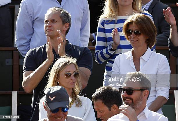 Louis Laforge attends day 11 of the French Open 2015 at Roland Garros stadium on June 3 2015 in Paris France