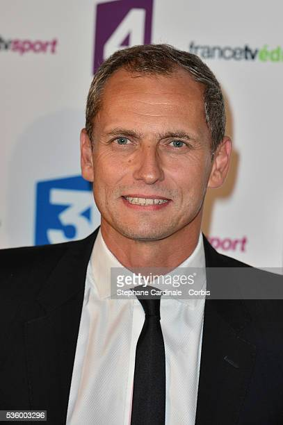 Louis Laforge attends 'France Televisions' Photocall at Palais De Tokyo on August 26 2014 in Paris France