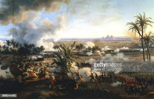 Louis Lejeune 'The Battle of the Pyramids' 21 July 1798 Versailles Musee du Chateau