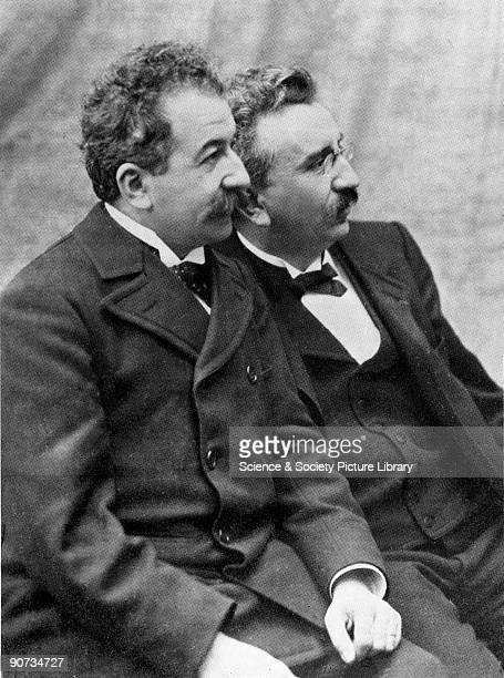 Louis Lumiere and Auguste Lumiere were two French brothers who invented the Cinematographe after hearing of Edison's invention the Kinetoscope This...