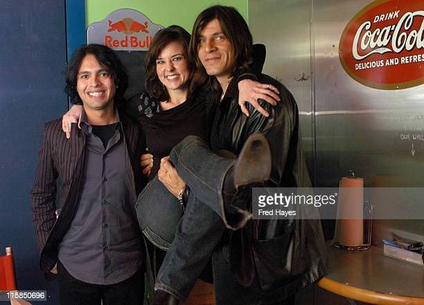 Louis Maldonado Anna Nalick and Tim Hogan during 2005 Sundance Film Festival ASCAP Music Cafe with Mary Gauthier Anna Nalick Billy Corrington Ricki...
