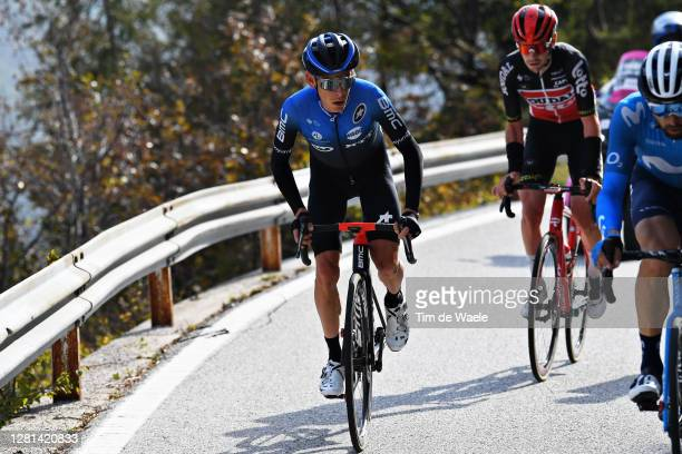 Louis Meintjes of South Africa and NTT Pro Cycling Team / Breakaway / during the 103rd Giro d'Italia 2020, Stage 17 a 203km stage from Bassano del...