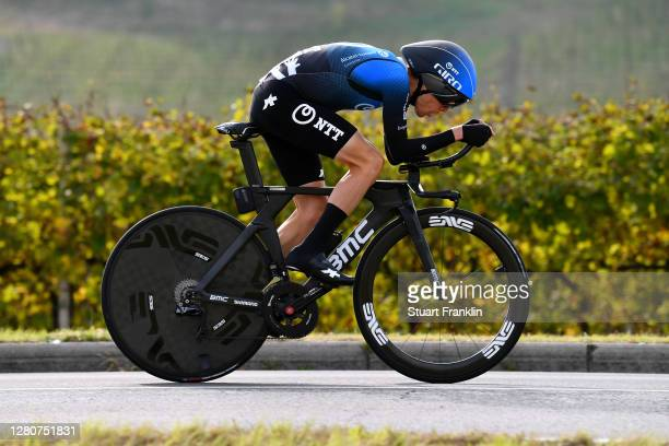 Louis Meintjes of South Africa and NTT Pro Cycling Team / during the 103rd Giro d'Italia 2020, Stage 14 a 34,1km individual Time Trial from...