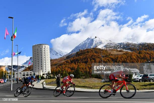 Louis Meintjes of South Africa and NTT Pro Cycling Team / Luca Chirico of Italy and Team Androni Giocattoli Sidermec / Mathias Le Turnier of France...