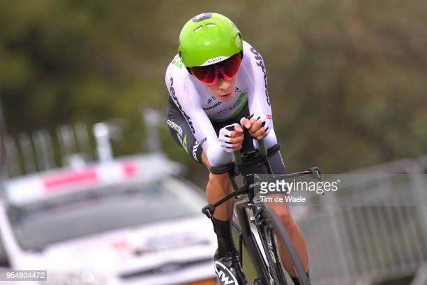 Louis Meintjes of South Africa and Team Dimension Data / during the 101th Tour of Italy 2018 Stage 1 a 97km Individual Time Trial from Jerusalem to...