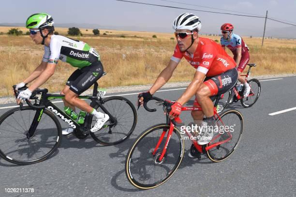 Louis Meintjes of South Africa and Team Dimension Data / Markel Irizar of Spain and Team Trek Segafredo / during the 73rd Tour of Spain 2018, Stage 9...