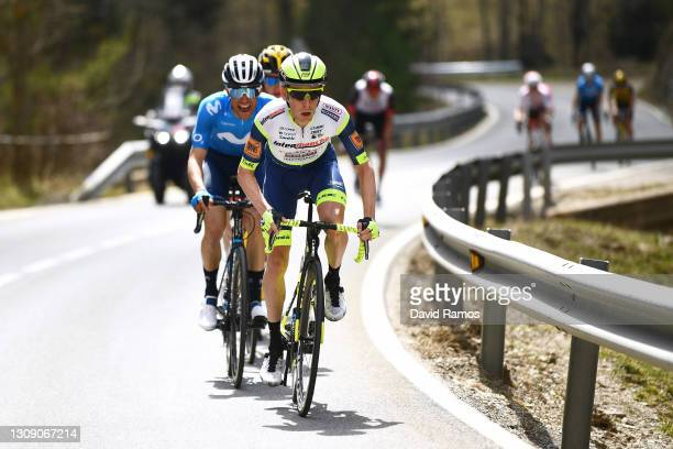 Louis Meintjes of South Africa and Team Intermarché - Wanty - Gobert Matériaux during the 100th Volta Ciclista a Catalunya 2021, Stage 4 a 166,5km...