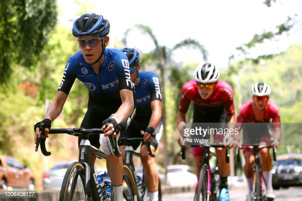 Louis Meintjes of South Africa and Team NTT Pro Cycling / during the 25th Le Tour de Langkawi 2020, Malaysian International Classic Race a 159km...