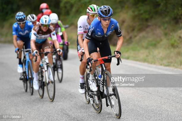 Louis Meintjes of South Africa and Team NTT Pro Cycling / during the 55th Tirreno-Adriatico 2020, Stage 4 a 194km stage from Terni to Cascia 645m /...
