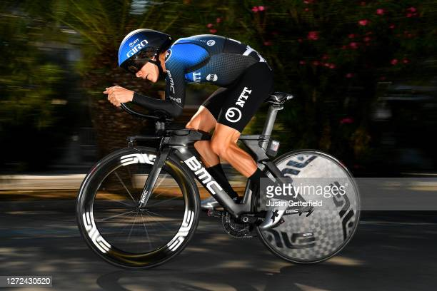 Louis Meintjes of South Africa and Team NTT Pro Cycling / during the 55th Tirreno-Adriatico 2020 - Stage 8 a 10,1km Individual Time Trial in San...