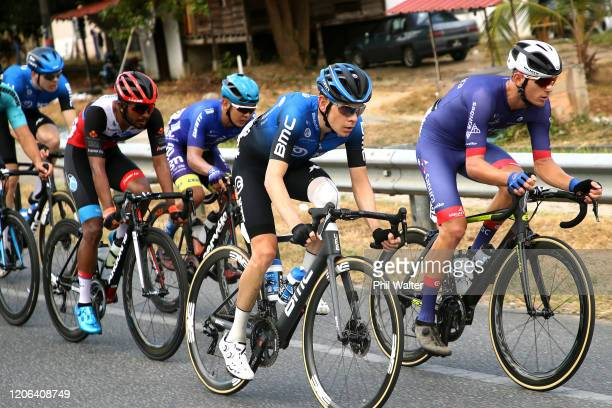 Louis Meintjes of South Africa and Team NTT Pro Cycling / Jesse Ewart of Australia and Team Sapura Cycling / during the 25th Le Tour de Langkawi...