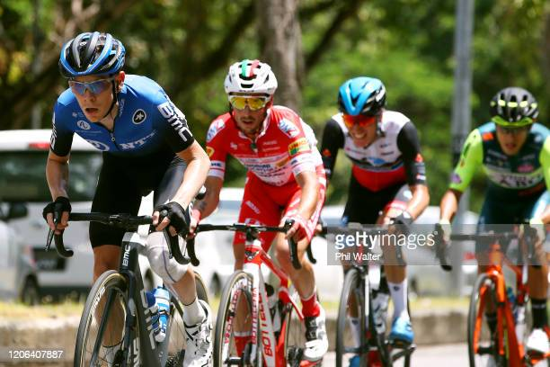 Louis Meintjes of South Africa and Team NTT Pro Cycling / Luca Chirico of Italy and Team Androni Giocattoli - Sidermec / during the 25th Le Tour de...