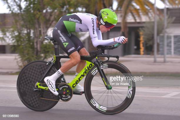 Louis Meintjes of South Africa during the 53rd TirrenoAdriatico 2018 Stage 7 a 105km Individual Time Trial stage in San Benedetto Del Tronto on March...