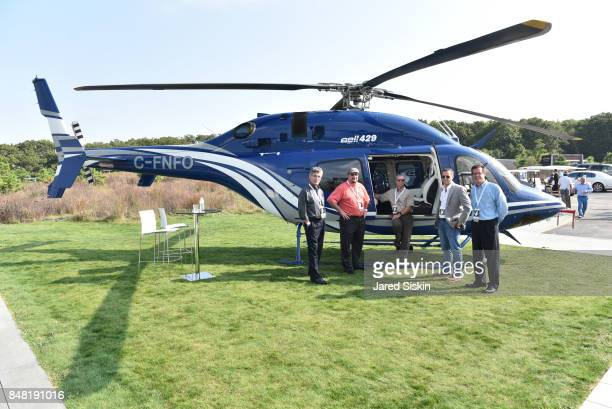 Louis Monsante, Chase Hawkins, Randall Parent, Colin Hodges and Chuck Evans attend The Bridge 2017 at the Former Bridgehampton Race Circuit on...