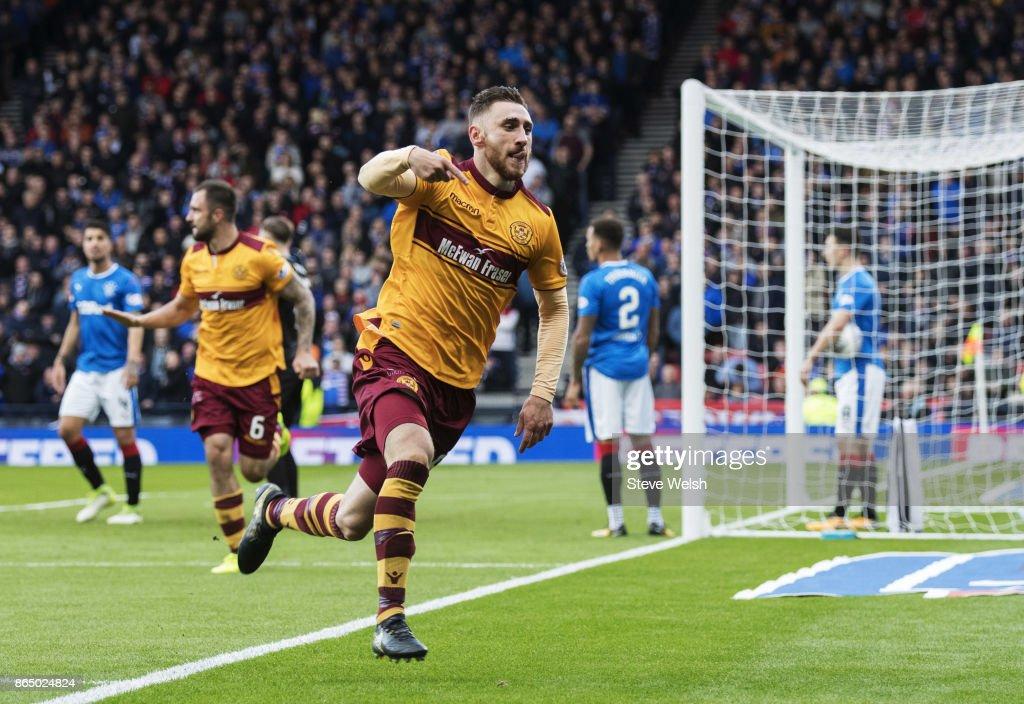 Rangers v Motherwell - Betfred League Cup Semi Final : Nachrichtenfoto