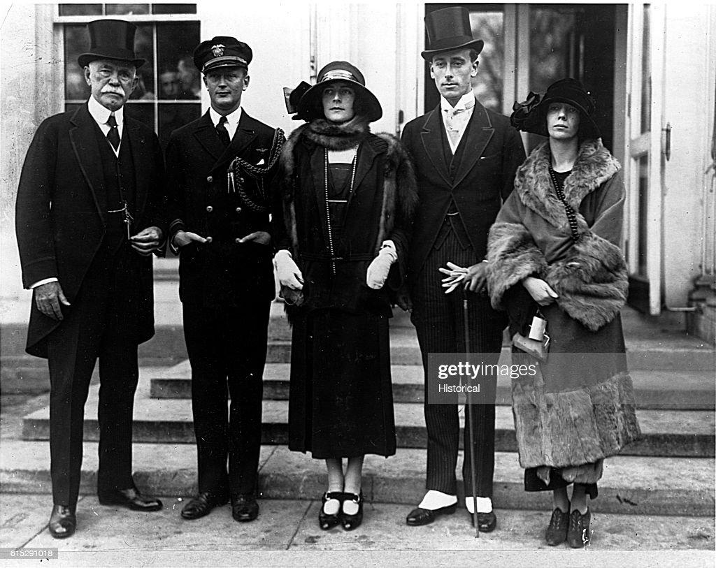 Louis Mountbatten, 1st Earl Mountbatten of Burma, and Friends : News Photo