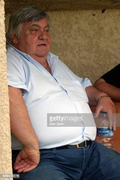 Louis NICOLLIN Ajaccio / Montpellier match amical au Grau du Roi
