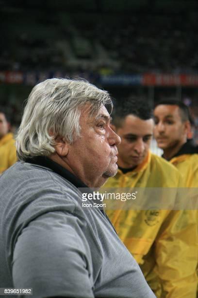 Louis NICOLLIN avant la fin du match Montpellier / Grenoble 38eme journee de Ligue 2