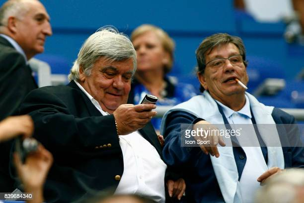 Louis NICOLLIN et Michel MEZY France / Argentine Coupe du Monde de Rugby 2007 Stade de France Paris