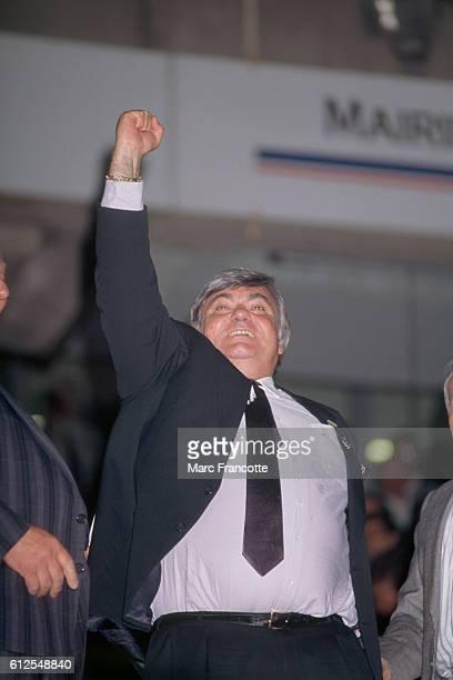 Louis Nicollin President of Montpellier Herault Sport Club